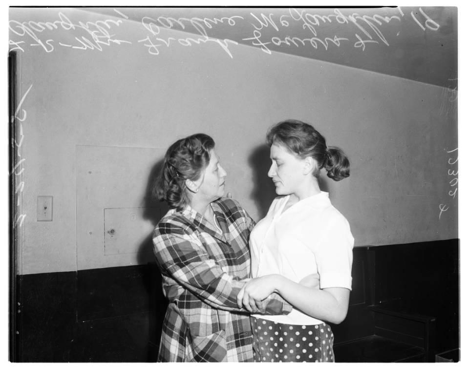 Amnesia victim, 1958